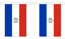 PARAGUAY BUNTING - 3 METRES 10 FLAGS